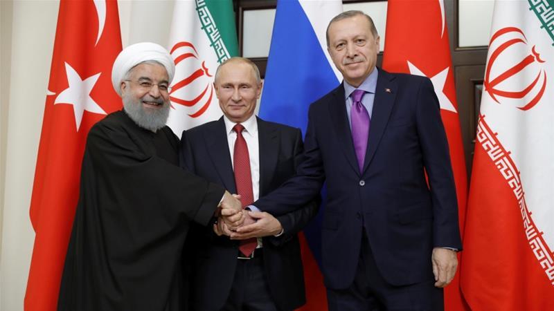 რუსეთის, თურქეთისა და ირანის პრეზიდენტები სირიის კონფლიქტის დარეგულირების საკითხს ანკარაში განიხილავენ