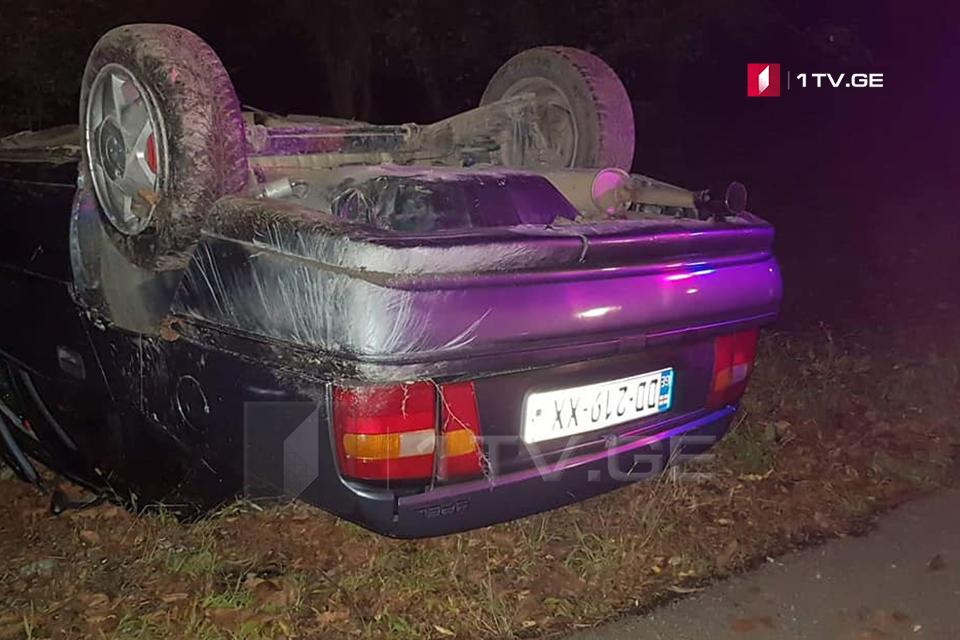 ლაფანყურში ავტოსაგზაო შემთხვევის შედეგად ორი მამაკაცი დაშავდა