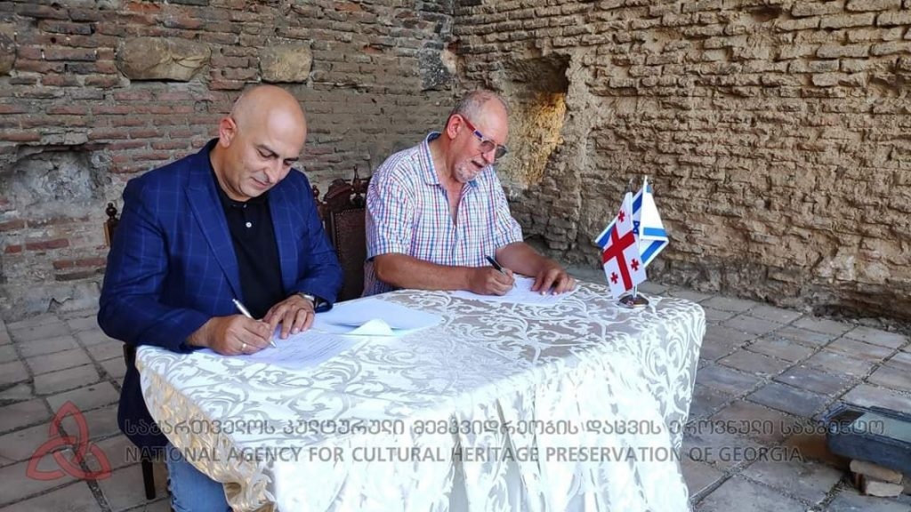 Исторический след Грузии в монастыре Бир эль-Куте близ Иерусалима будет изучаться на основе меморандума