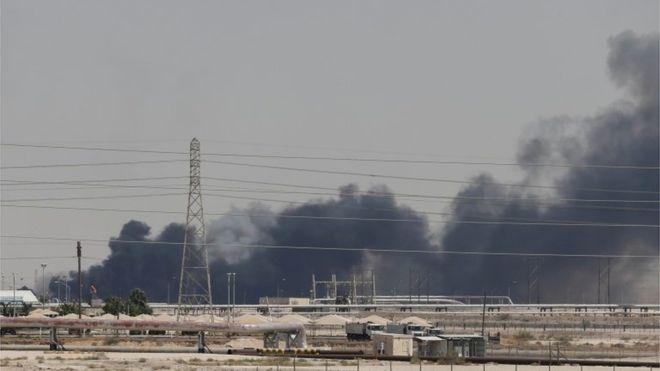 საუდის არაბეთის ნავთობის ობიექტებზე თავდასხმის გამო, ბრენტის ტიპის ნავთობი 10 პროცენტით გაძვირდა