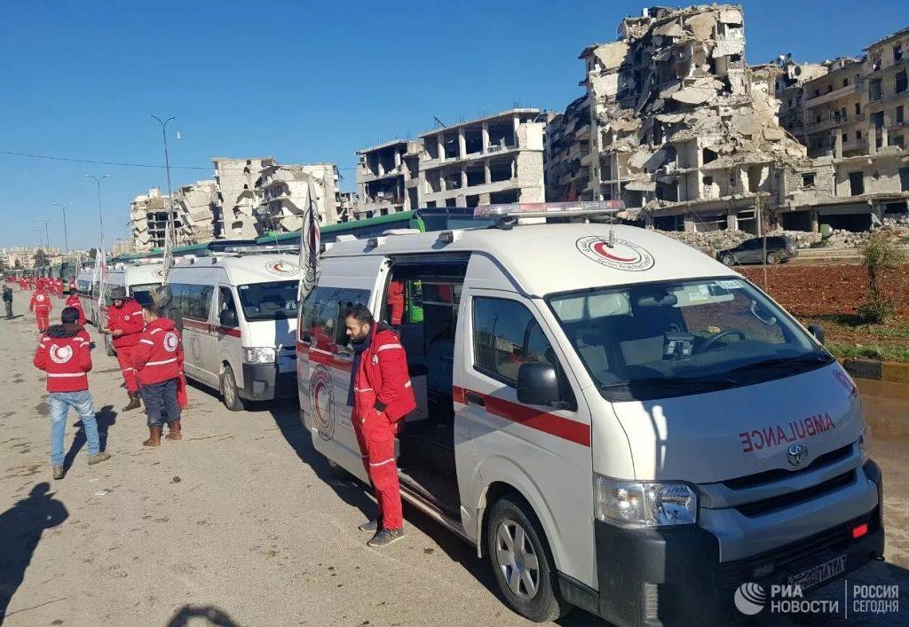 სირიის ჩრდილოეთით, ქალაქ ერ-რაიშიტერაქტის შედეგად 12 ადამიანი დაიღუპა