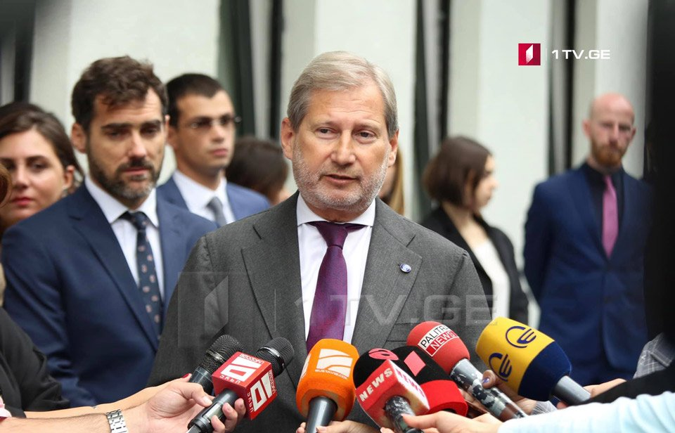 Johannes Hahn: European School is example of cooperation, friendship and recognition of European values