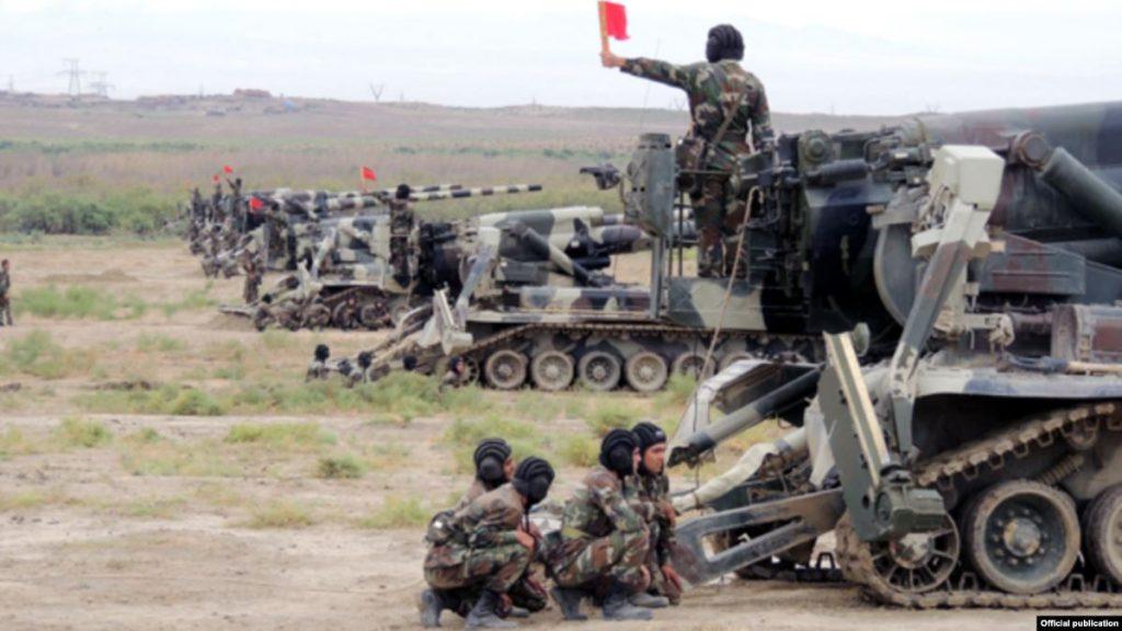 Армия Азербайджана начала широкомасштабные оперативно-тактические учения