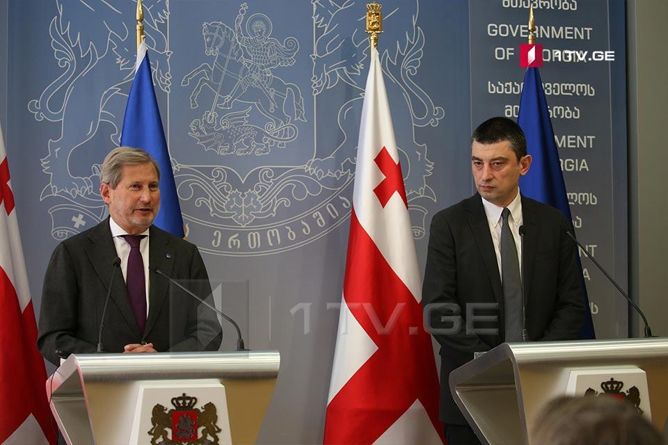 Георгий Гахария - Процесс интеграции в ЕС принесет Грузии все больше результатов