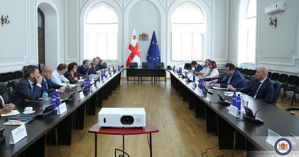 საგარეო საქმეთა სამინისტროში ჟენევის საერთაშორისო მოლაპარაკებების თანათავმჯდომარეებთან შეხვედრა გაიმართა