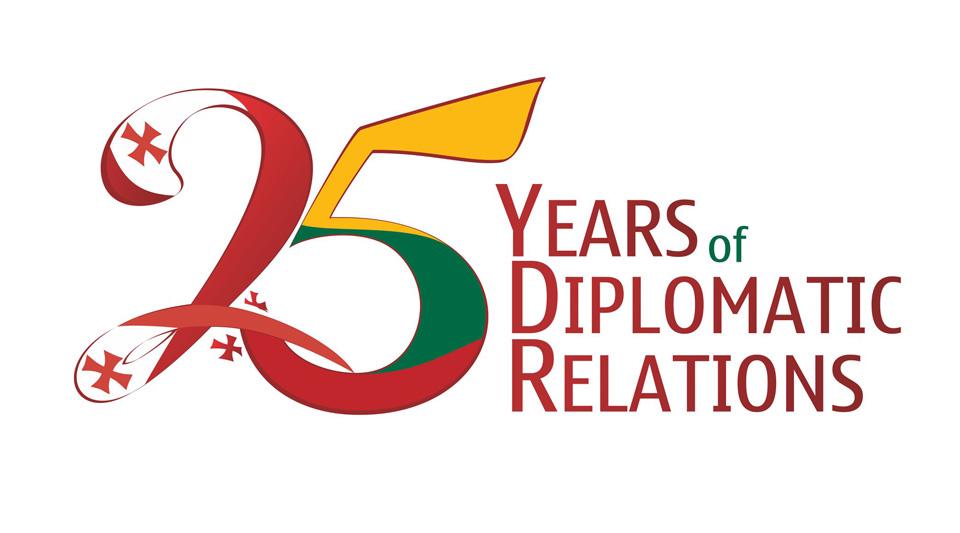 C момента установления дипломатических отношений между Грузией и Литвой исполнилось 25 лет