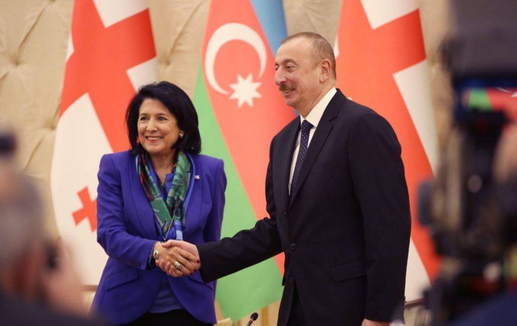 Salome Zurabishvili and Ilham Aliyev held phone conversation