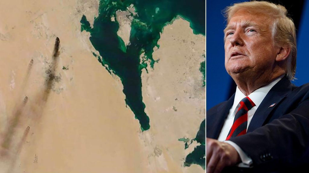 დონალდ ტრამპი - როგორც ჩანს, საუდის არაბეთის სანავთობო ობიექტებზე თავდასხმაზე ირანია პასუხისმგებელი, თუმცა ომის თავიდან აცილებას ვისურვებდით