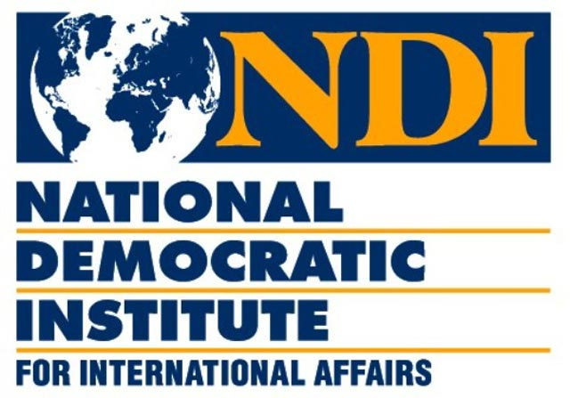 NDI – 76% of respondents support integration with EU, 69% - NATO membership