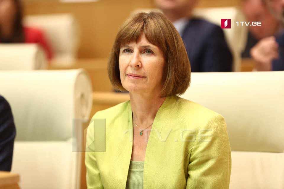 Элизабет Руд - Призываем Россию соблюдать соглашение о прекращении огня 2008 года