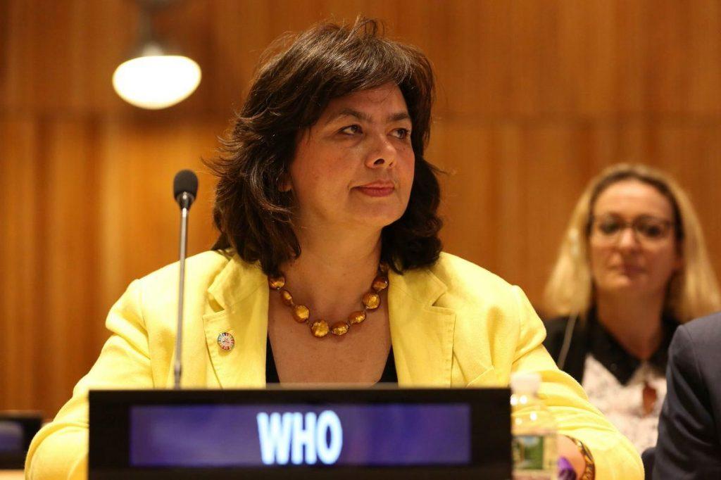 ნატა მენაბდე დღეს შესაძლოა, ჯანდაცვის მსოფლიო ორგანიზაციის რეგიონული დირექტორი გახდეს