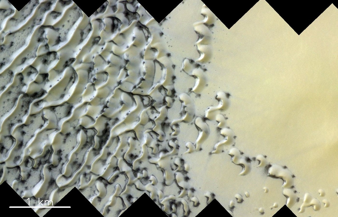 როგორ დგება გაზაფხული მარსზე - ახალი ფოტოები წითელი პლანეტიდან