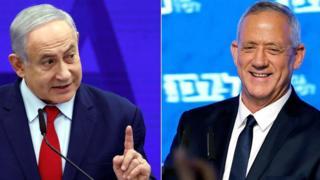 ეგზიტპოლის შედეგებით, ისრაელის საპარლამენტო არჩევნებში მთავარ კონკურენტ პარტიებს კვლავ მინიმალური სხვაობა აქვთ