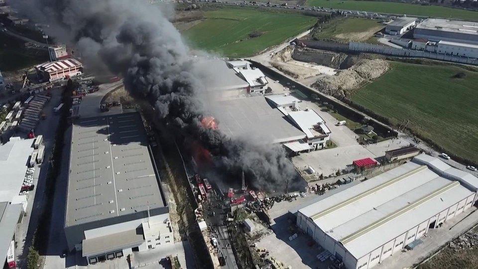 სტამბოლში, ქიმიურ ქარხანაში აფეთქება მოხდა