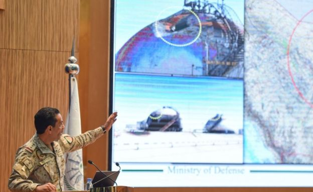 ნავთობის ობიექტებზე თავდასხმის მხარდაჭერაში საუდის არაბეთიირანს ადანაშაულებს
