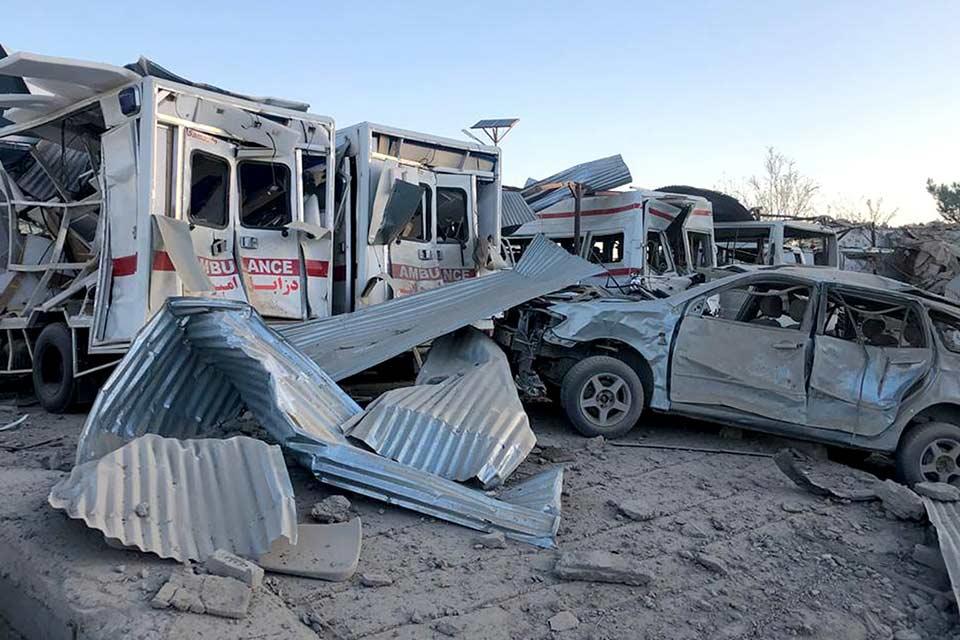 ავღანეთში დანაღმული მანქანის აფეთქების შედეგად 20 ადამიანი დაიღუპა, 95 კი, დაშავდა