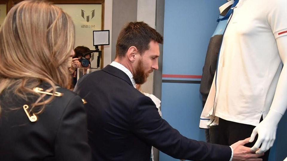 ლიონელ მესის ტანსაცმლის საკუთარი ბრენდი აქვს (ვიდეო)