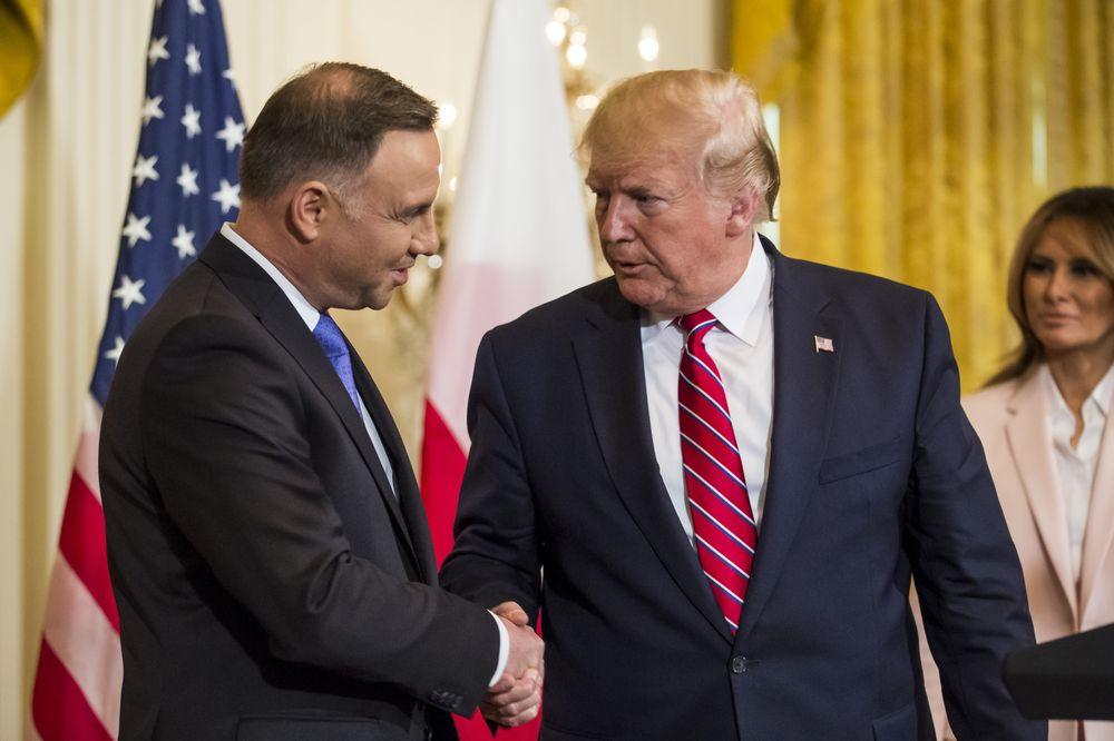 Президенты США и Польши подпишут декларацию об увеличении американского военного контингента в Польше