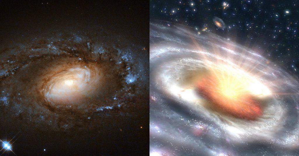 ექვსი წყნარი გალაქტიკა რამდენიმე თვეში კვაზარად აკაშკაშდა, ასტრონომები ვერ ხსნიან, როგორ