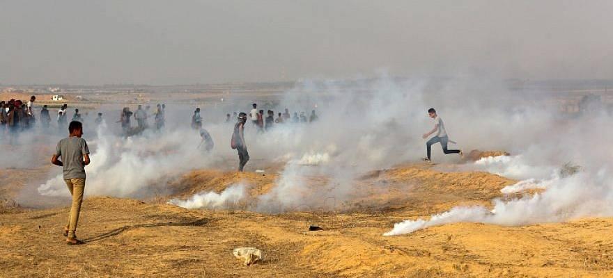 ღაზის სექტორში ისრაელის შეიარაღებულ ძალებთან შეტაკების შედეგად 40-მდე პალესტინელი დაშავდა