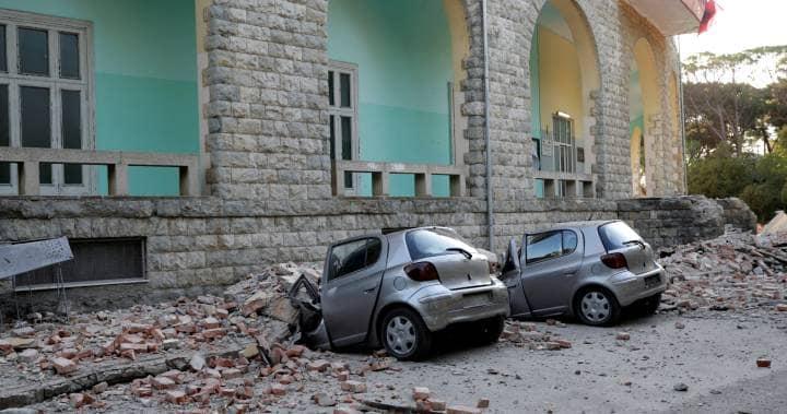 ალბანეთში 5,6 მაგნიტუდის სიმძლავრის მიწისძვრა მოხდა