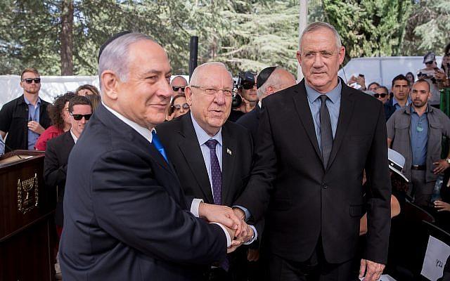 """ისრაელში პარტიამ """"ერთობლივი სია"""" მთავრობის ფორმირებისთვის მხარდაჭერა ბენი განცს გამოუცხადა, რითაც განცის ბლოკი ბენიამინ ნეთანიაჰუს ჯგუფს სჯობნის"""