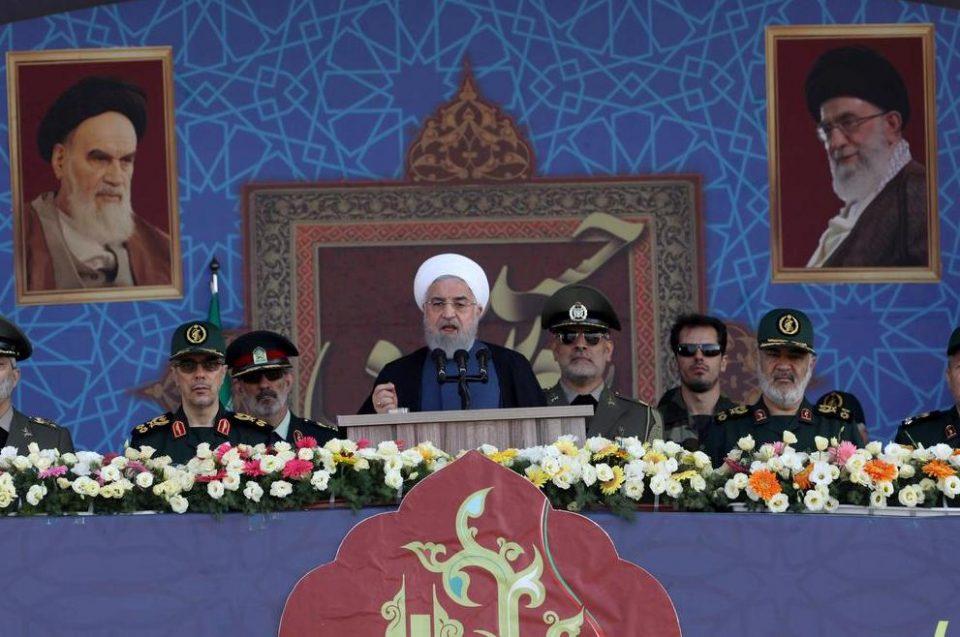 ირანი პრეზიდენტი -აშშ სანქციებს უწესებს ინსტიტუტებს, რომლებიც ისედაც არიან შავ სიაში, ეს ყველაფერი მათსასოწარკვეთაზე მეტყველებს