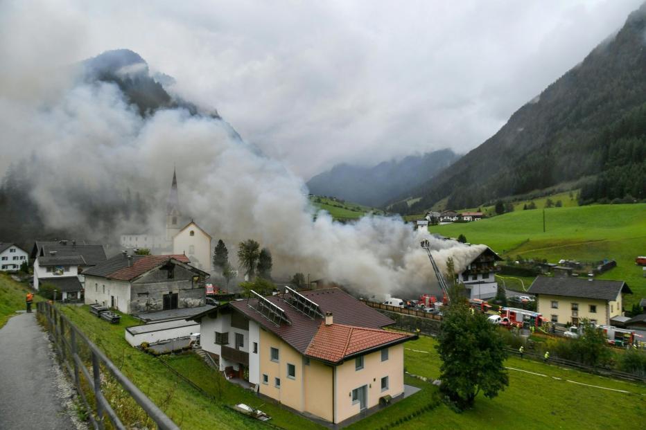ავსტრიაში, ერთ-ერთ სუპერმარკეტში ბუნებრივი აირის აფეთქების შედეგად ცხრა ადამიანი დაშავდა