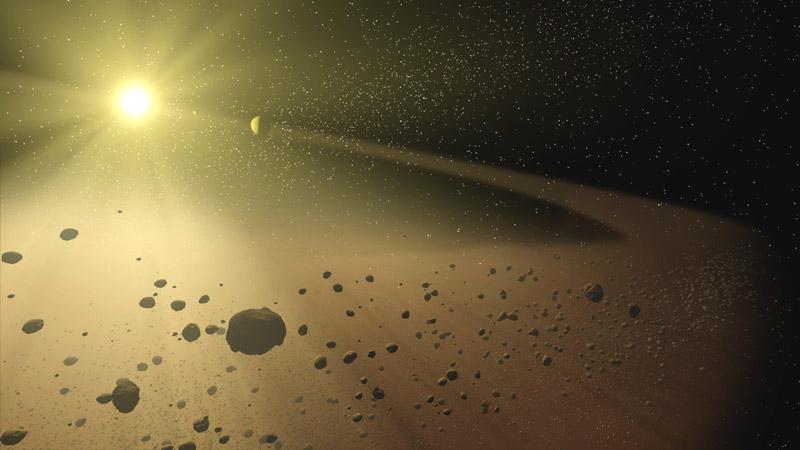 შორეულ წარსულში დედამიწაზე ბიომრავალფეროვნებამ ასტეროიდის მტვრის წყალობით იფეთქა - ახალი კვლევა