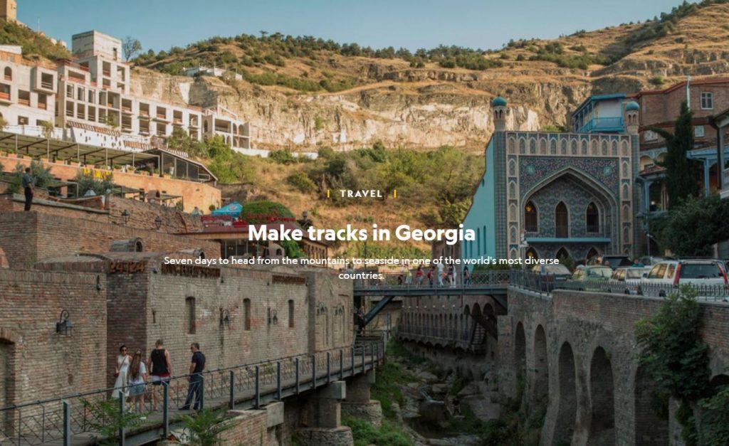 """""""ნეიშენალ ჯეოგრაფიკმა"""" საქართველოში მოგზაურობის შესახებ სტატია გამოაქვეყნა"""