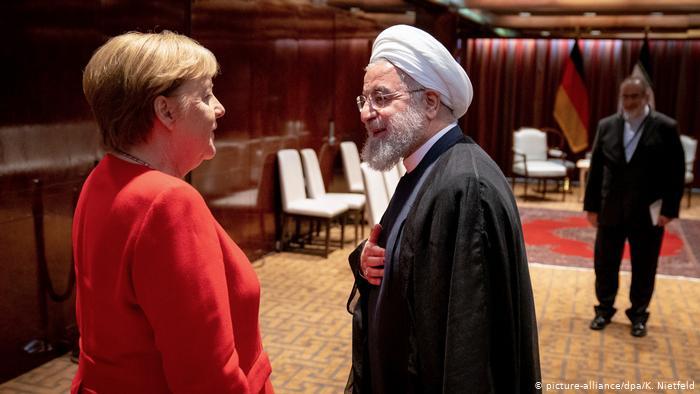 ანგელა მერკელი - მივესალმები, თუ აშშ-ისა და ირანის პრეზიდენტები მოლაპარაკებას დაიწყებენ, მაგრამ ეს ჯერ არარეალურია