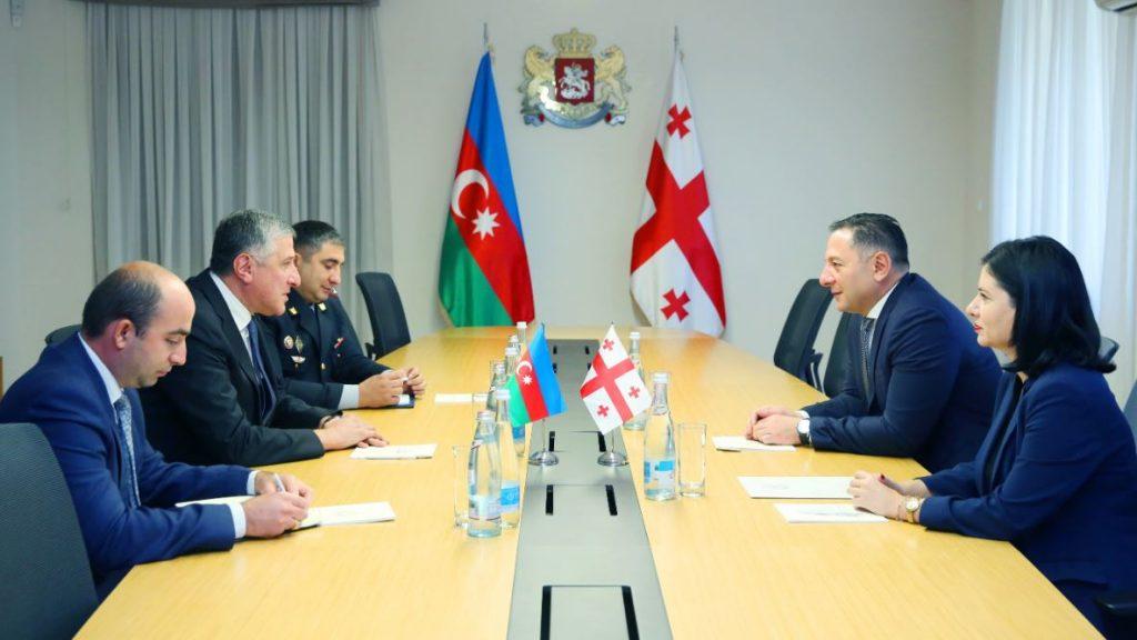 Вахтанг Гомелаури встретился с послом Азербайджана в Грузии