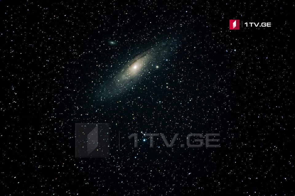 ანდრომედას გალაქტიკა ირაკლი გედენიძის ასტროობიექტივში