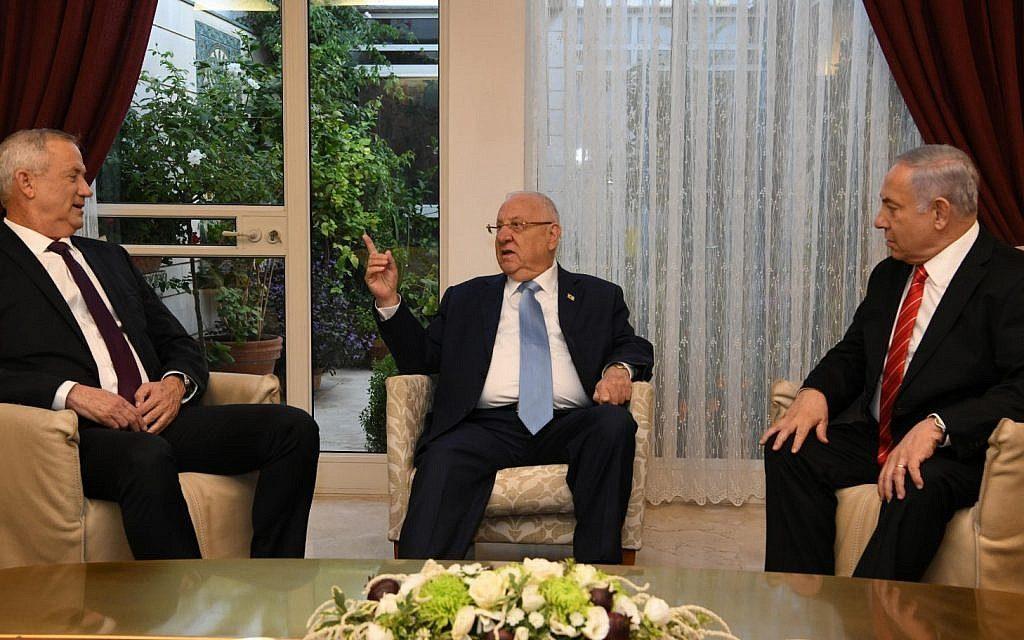 ისრაელის პრეზიდენტმა სამთავრობო კოალიციის შექმნა ბენიამინ ნეთანიაჰუს დაავალა
