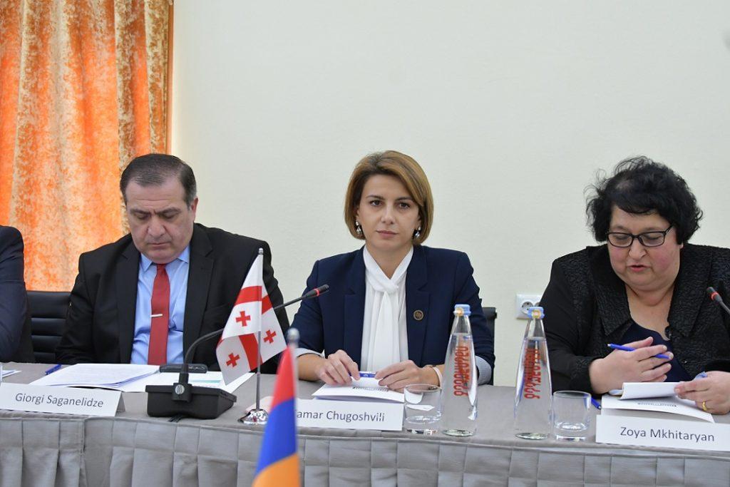Тамар Чугошвили- Для нас, как для соседей, важно сотрудничать с парламентом Армении