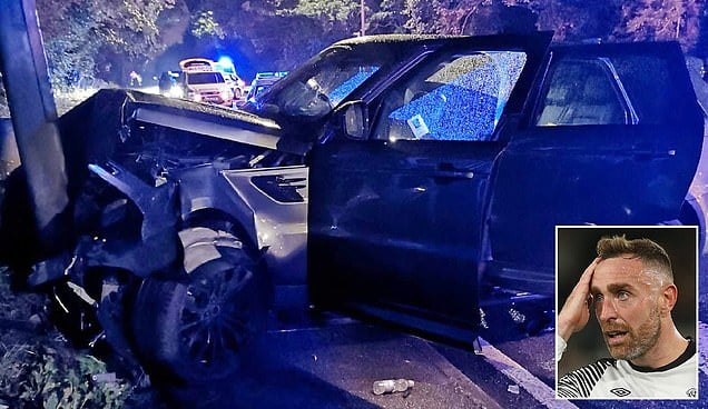 """""""დერბის"""" ფეხბურთელები სერიოზულ ავტოავარიაში მოხვდნენ"""
