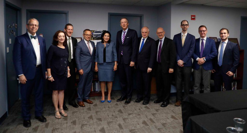 სალომე ზურაბიშვილი საერთაშორისო ებრაული ორგანიზაციების პრეზიდენტებს შეხვდა