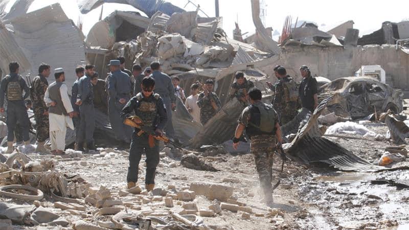 ავღანეთში, ყანდაღარის პროვინციაში საარჩევნო უბანთან აფეთქება მოხდა