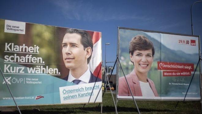ავსტრიაში ვადამდელი საპარლამენტო არჩევნები იმართება
