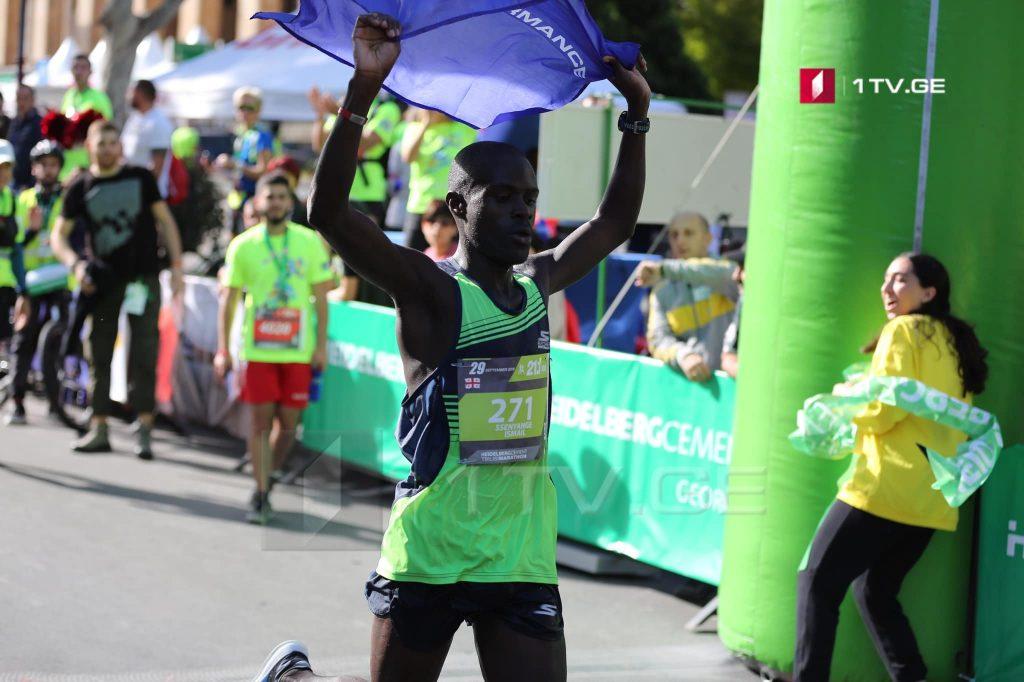 Тбилисы æхсæнадæмон марафоны  8-æм згъорд  фæцис