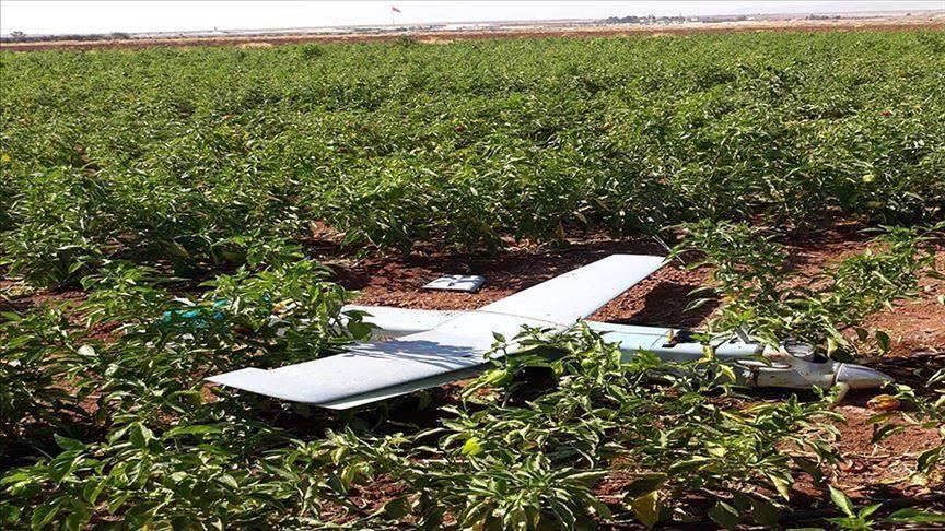 თურქეთის სამხედრო ავიაციამ სირიის საზღვართან უპილოტო საფრენი აპარატი ჩამოაგდო