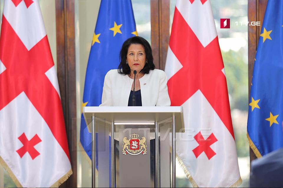 Վրաստանի նախագահը մասնակցելու է Ժակ Շիրակի հուղարկավորությանը