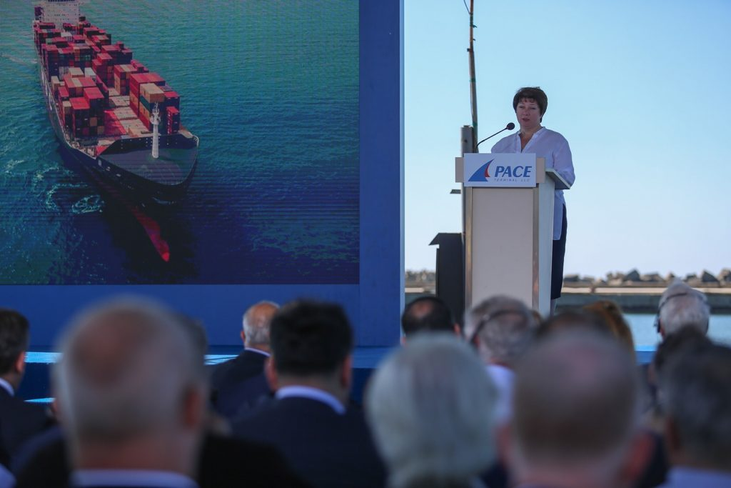 Майя Цкитишвили - Строительство новой портовой инфраструктуры в Поти является ярким примером расширения грузино-американского бизнеса