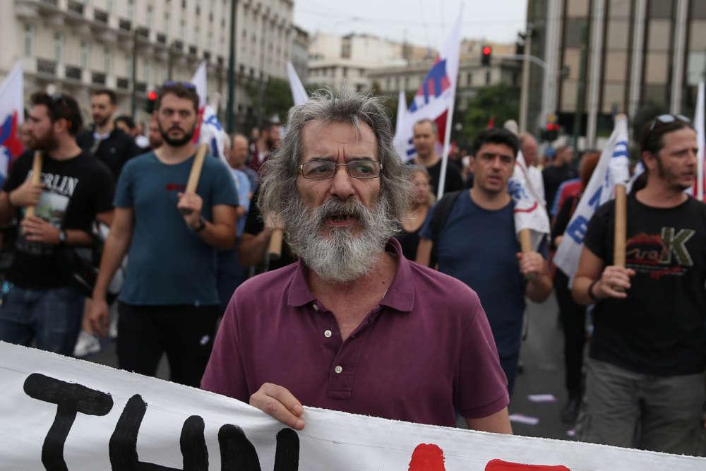 საბერძნეთში მასშტაბური გაფიცვა მიმდინარეობს