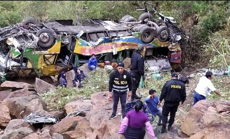 პერუში ავტოკატასტროფას 23 ადამიანი ემსხვერპლა