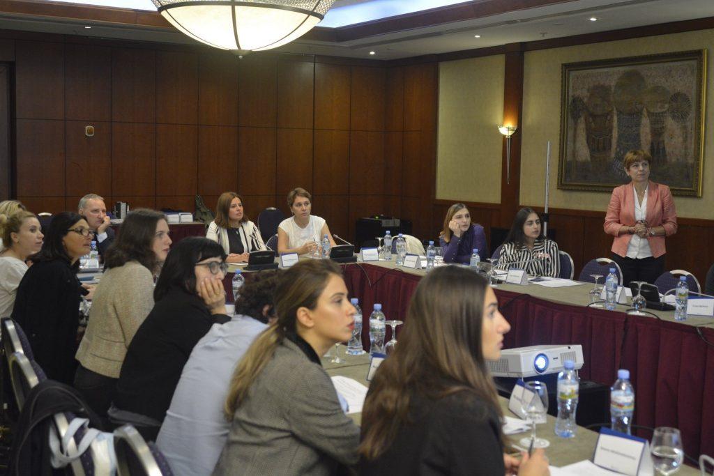 ევროკავშირის ექსპერტებმა მანდატურის სამსახურის ფსიქო-სოციალური მომსახურების ცენტრის თანამშრომლებს ტრენინგი ჩაუტარეს
