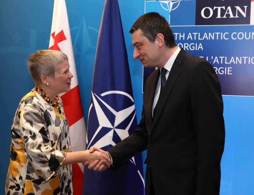 НАТО хъæддых йæ фарс хæцы Гуырдзыстоны цæугæ  демокративон  реформæтæн