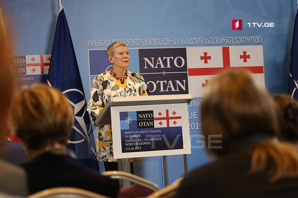 Роуз  Гетемюллер – уынаффæ йæ тыхы ис, Гуырдзыстон суыдзæн НАТО-ы уæнг