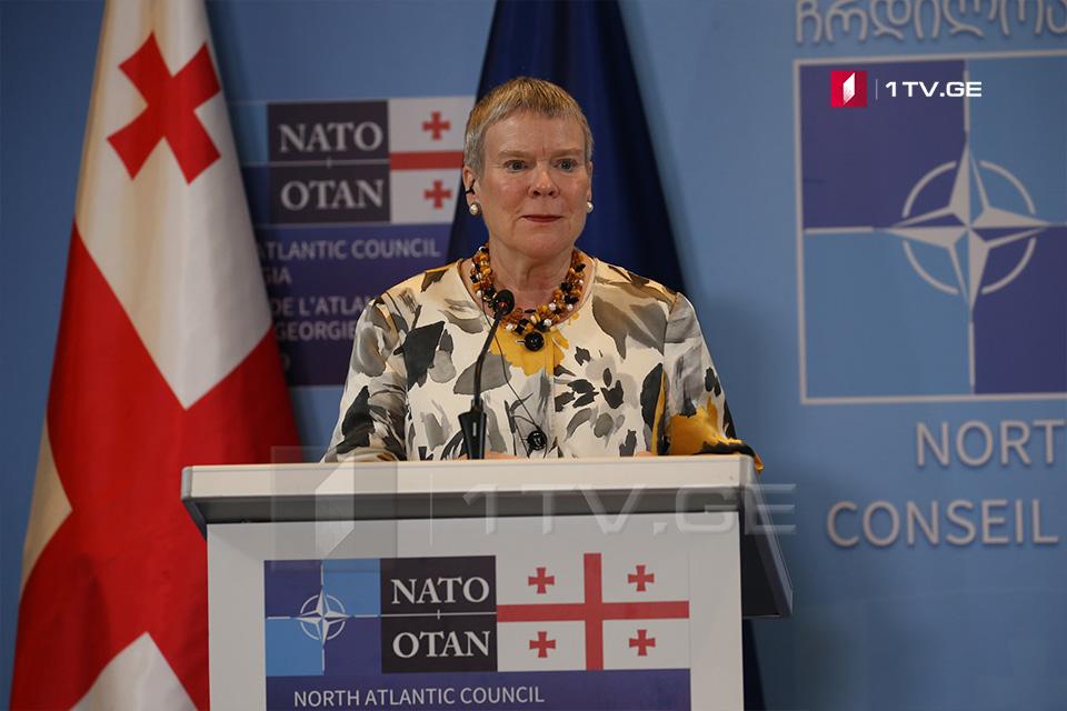 Роуз Готмиолер – НАТО - Қырҭтәылaтәи aпaкет aиҕьтәрaзы ҳaиқәшaҳaҭхеит, ҳaдгылaҩцәa иaҳa ирaцәaны aресурсқәa ҳзоушьҭрa ҳaқәдыргәыҕит