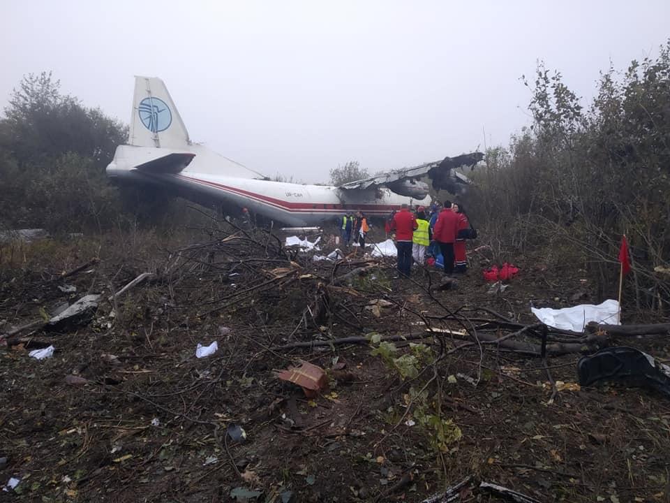 ლვოვში თვითმფრინავი ავარიულად დაეშვა, დაიღუპა რამდენიმე ადამიანი